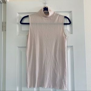 COS • Baby Pink Cotton Shell Top